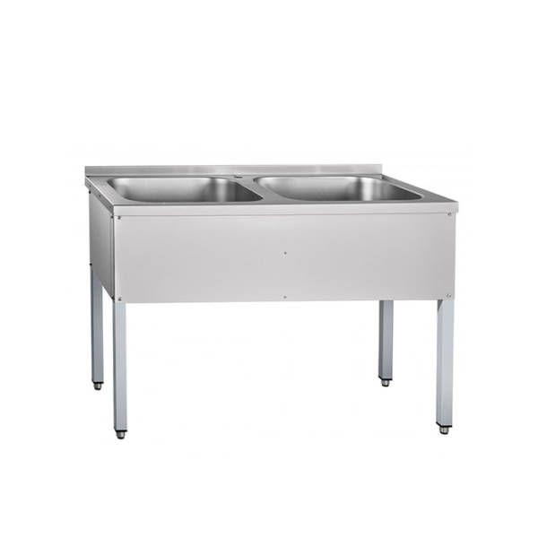 Ванна моечная Abat ВМП-6-2-5РЧ (крашенный)