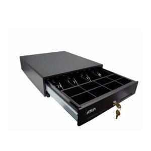 Денежный ящик Форт 4К черный