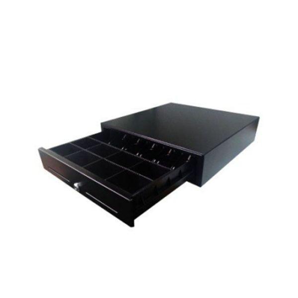 Денежный ящик Форт 5К черный