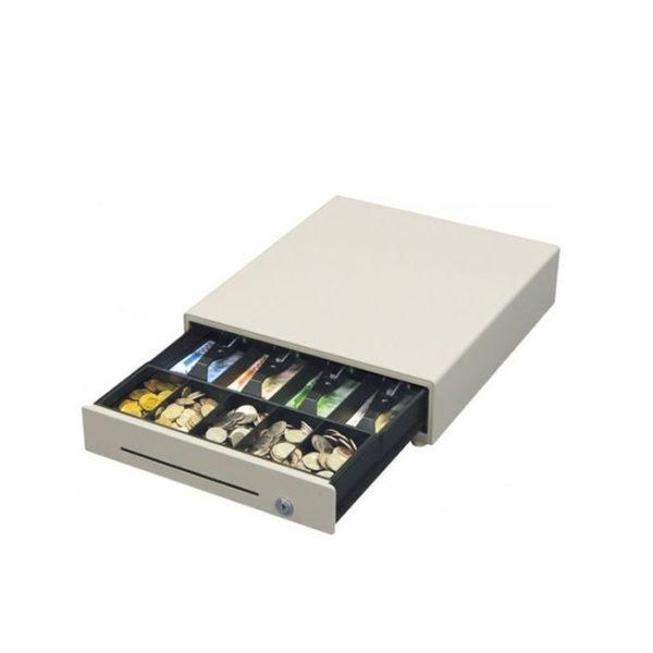 Денежный ящик EC-410 черный, 410х435х90, 24V