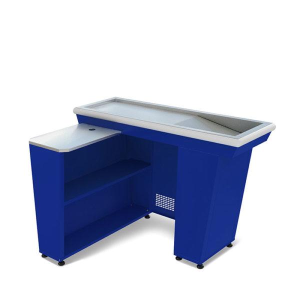 Кассовый бокс МХМ КБ 1,5-1Н (синий)