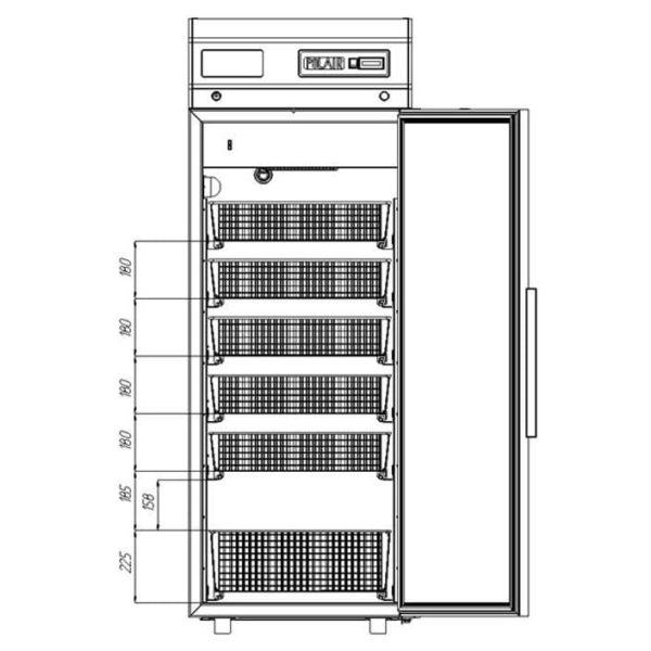 Шкаф холодильный POLAIR ШХФ-0,5